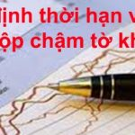 Thời Hạn Nộp Và Các Mức Phạt Chậm Nộp Tờ Khai Thuế GTGT (VAT), Thuế thu nhập doanh nghiệp (thuế TNDN), Thuế thu nhập cá nhân (thuế TNCN), Thuế Môn Bài